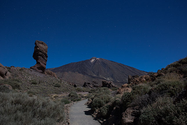 Moonlit night on Mt Teide, Tenerife. © Olaf Reinen / ShotzTours.com